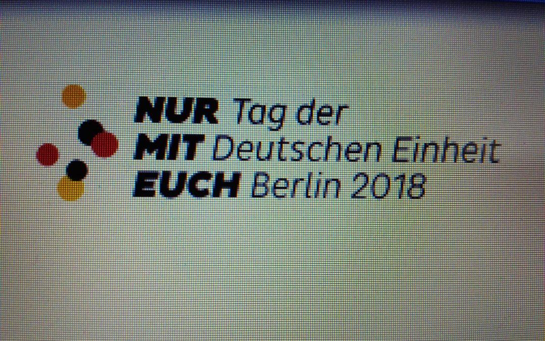Nur mit Euch?! – Gedankensplitter zum Tag der Deutschen Einheit 2018