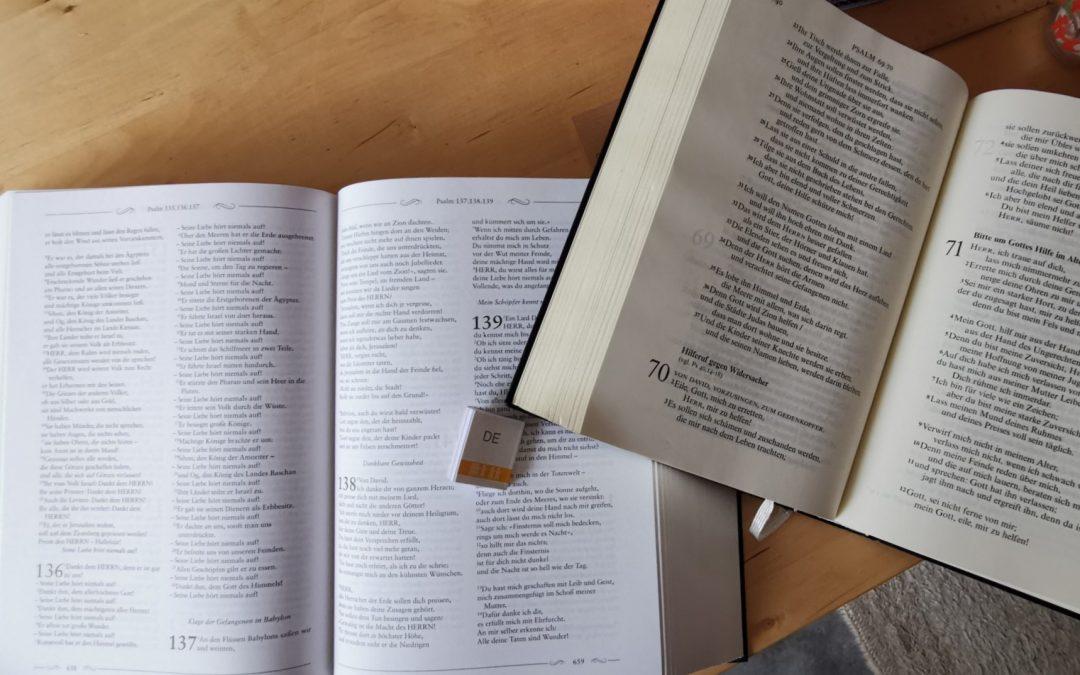 Vom Ratschluss Gottes und dem Buch des Lebens – Gedankensplitter zu Leben und Tod